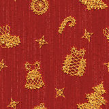 Vector seamless Christmass pattern with same Royalty Free Stock Image