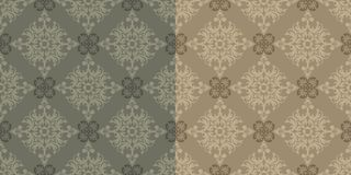 Vector. Seamless Classic Wallpaper Royalty Free Stock Photo