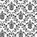 Vector. Seamless Classicism pattern Stock Image