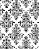 Vector. Seamless Classicism Wallpaper Stock Image