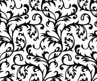 Vector. Seamless Classicism Wallpaper stock illustration