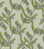 Vector seamless color olive light background Royalty Free Stock Images