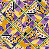 Vector Seamless Colored Abstract Pattern Stock Photos