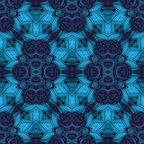 Vector Seamless Colored Ornate Pattern Royalty Free Stock Photography