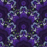 Vector Seamless Colored Ornate Pattern Royalty Free Stock Images