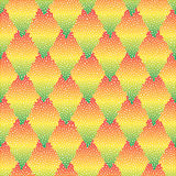 Vector seamless colorful abstract geometric dotted pattern. Royalty Free Stock Images