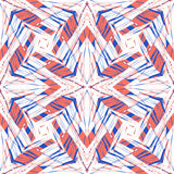 Hipster graphic pattern Royalty Free Stock Image
