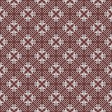 Vector Seamless coloured Floral Organic Triangle Lines Hexagonal Geometric Pattern. Vector Seamless Black and White Floral Organic Triangle Lines Hexagonal stock illustration