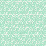 Vector seamless curve and wavy pattern Royalty Free Stock Photos