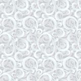 Vector seamless 3d ornate winter background. Eps-8 Royalty Free Stock Image