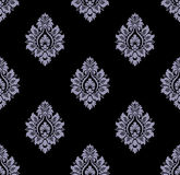 Vector. Seamless damask pattern Royalty Free Stock Photo
