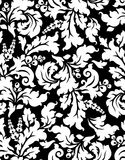 Vector. Seamless damask pattern Stock Image