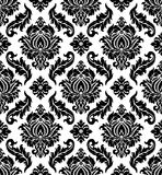 Vector. Seamless damask pattern Stock Photo