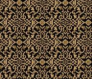 Vector seamless damask pattern Stock Image