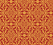 Vector seamless damask pattern Royalty Free Stock Images