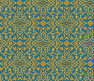 Vector seamless damask pattern Royalty Free Stock Photos