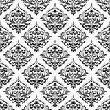 Vector. Seamless damask pattern Stock Photography