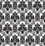 Vector. Seamless damask pattern. Stock Photography