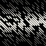 Vector Seamless Dash Diagonal Parallel Line Halfton Pattern Royalty Free Stock Photography