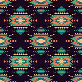 Vector seamless decorative ethnic pattern. American indian motifs. Background with aztec tribal ornament vector illustration