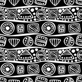 Vector seamless decorative pattern Royalty Free Stock Image