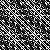 Vector seamless diagonal lines pattern black and white. abstract background wallpaper. vector illustration. Grey, lighting. Vector seamless diagonal lines royalty free illustration