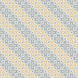 Vector seamless diagonal pattern with art ornament for design Royalty Free Stock Photography