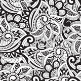 Vector Seamless Doodle Pattern Royalty Free Stock Photography