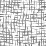 Vector seamless doodle patterns with hand drawn lines. Gray stripes on white backgrounds Stock Photography