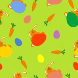 Vector seamless easter background Stock Photos