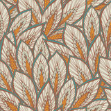 Vector seamless eastern pattern. Stock Image