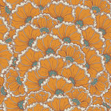Vector seamless eastern pattern. Stock Photography