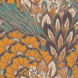 Vector seamless eastern pattern Royalty Free Stock Photos