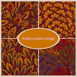 Vector seamless eastern pattern Stock Photography