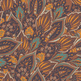 Vector seamless eastern pattern. Stock Photo