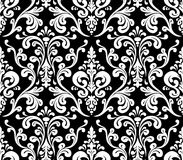 Vector. Seamless elegant damask pattern. Stock Photo