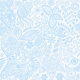 Vector seamless ethnic ornament. Vector seamless pattern with ethnic ornament Royalty Free Stock Photo