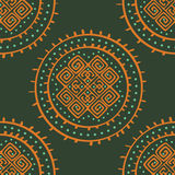 Vector seamless ethnic pattern Royalty Free Stock Photography