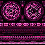 Vector seamless ethnic pattern Royalty Free Stock Photo