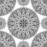 Vector seamless ethnic pattern Stock Image