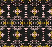 Vector seamless ethnic pattern. Tribal design for wallpaper, wrap paper or fabric. Stock Photos