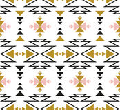 Vector seamless ethnic pattern. Tribal design for wallpaper, wrap paper or fabric. Royalty Free Stock Photos