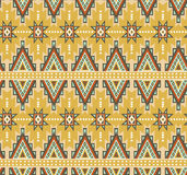Vector seamless ethnic pattern. Tribal design for wallpaper, wrap paper or fabric. Royalty Free Stock Image