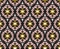 Vector seamless ethnic pattern. Tribal design for wallpaper, wrap paper or fabric. Stock Image
