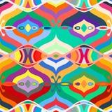Vector seamless ethnic pattern Stock Image