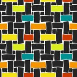 Vector seamless fabric Stock Images