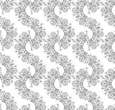 Vector seamless fancy wallpaper Royalty Free Stock Photos