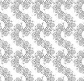 Vector seamless fancy wallpaper Royalty Free Stock Photos
