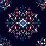 Vector seamless festive tribal pattern. Stock Images