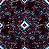 Vector seamless festive tribal pattern. Royalty Free Stock Images